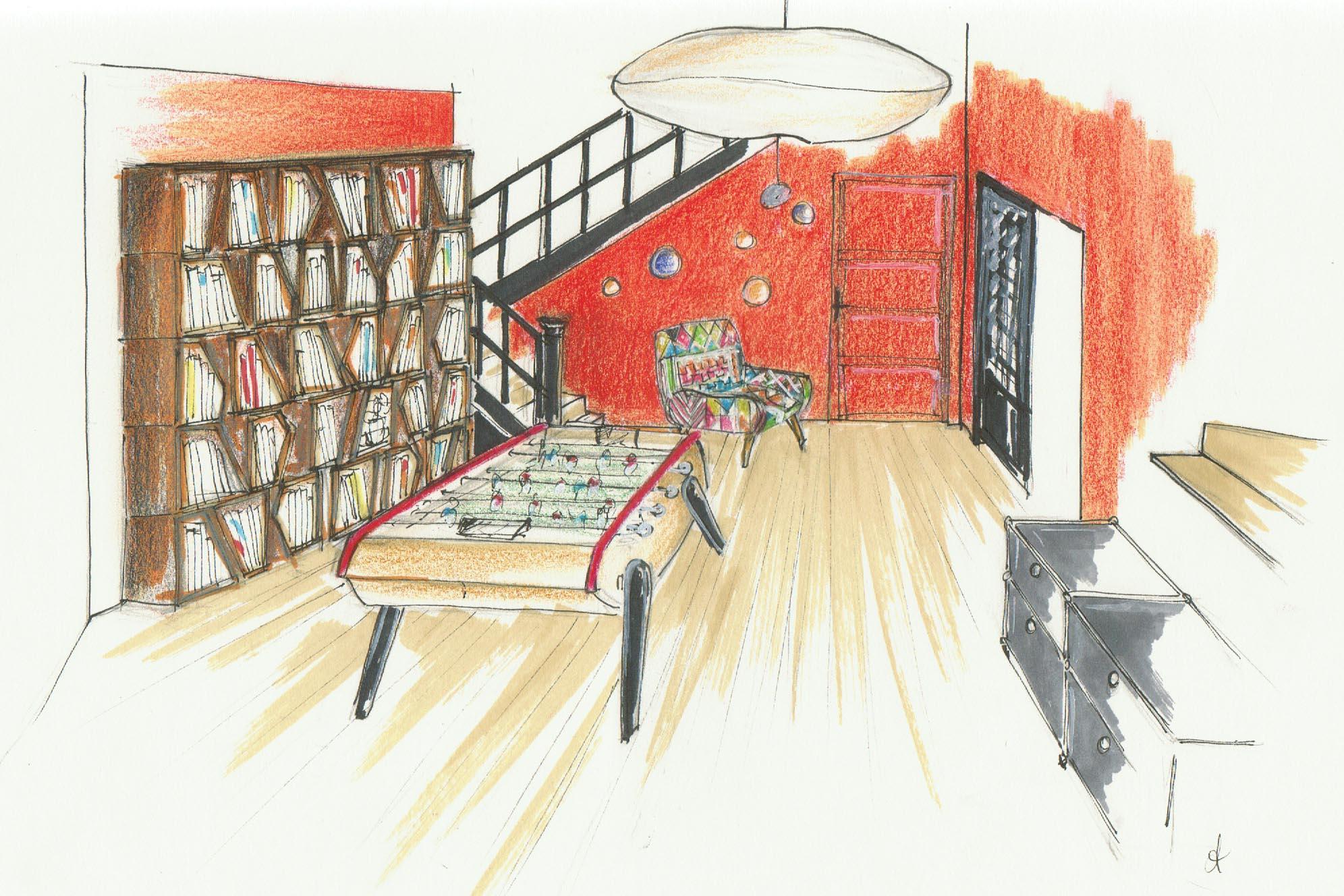 dessin Fonty entrée